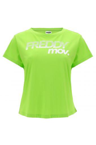 T-shirt confortable FREDDY MOV en jersey modal