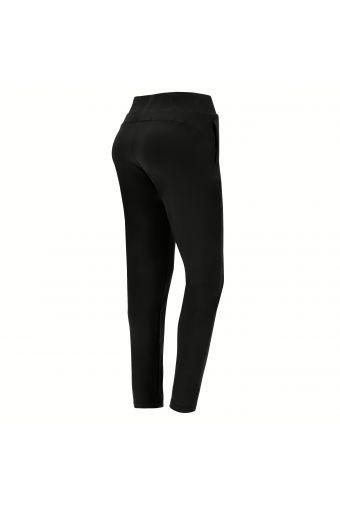 Stretch-Sport-Hose mit geradem Saum und Kordelzug