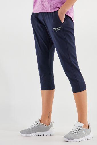Sportliche Stretch-Korsarenhose