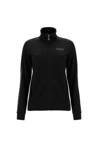 FREDDY TRAINING athletic sweatshirt with lettering on the sleeve