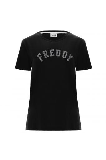 T-shirt FREDDY TRAINING confortable avec imprimé paisley