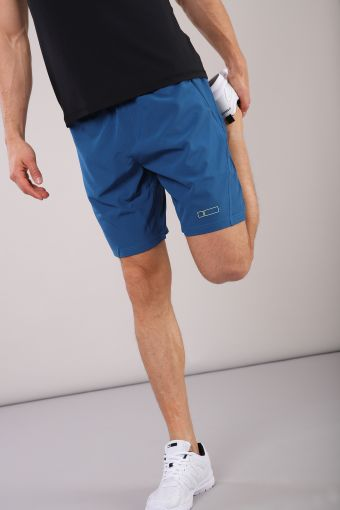 Men's D.I.W.O.® fabric shorts with zip pockets