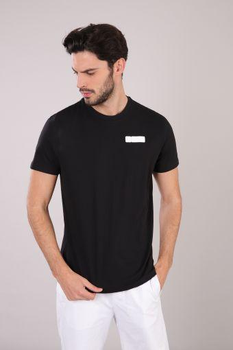 Camiseta de hombre de manga corta 100% algodón