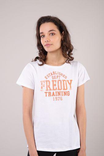 Camiseta M/C con cuello redondo comfort