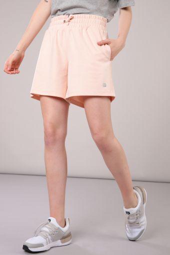 High Kick viscose and polyester Bermuda shorts
