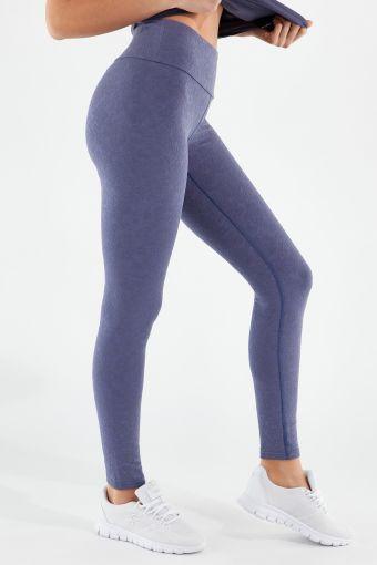 Superfit jacquard yoga leggings - 100% Made in Italy