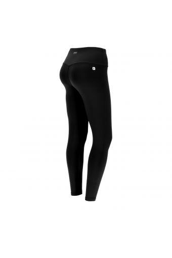 Damen-Fitness-Leggings aus technischem Stoff mit 7/8-Länge und hoher Taille