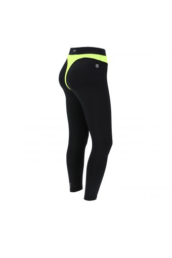 Superfit fitness leggings in D.I.W.O.® performance fabric with a contrast insert
