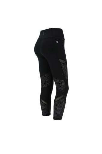 Breathable high waist SuperFit leggings with panel inserts