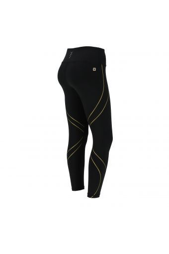 Breathable high waist SuperFit leggings with ergonomic bands