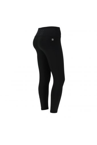 Breathable ankle-length Freddy Energy Pants® with a silver print