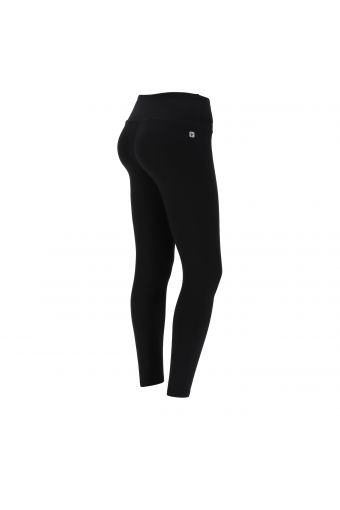 High waist ankle-length SuperFit leggings with a golden Freddy print