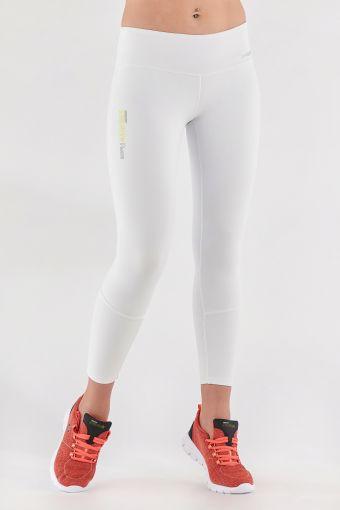 Leggings blanc Freddy Energy Pants® 7/8 en tissu transpirant