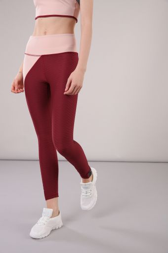 High-rise stretch leggings ideal for yoga 100% Made in Italy