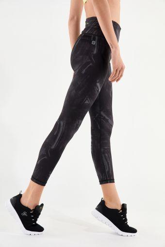 Leggings Freddy Energy Pants® 7/8 effetto pennellato