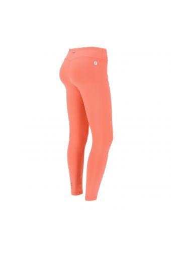Damen-Fitness-Leggings mit 7/8-Länge und normalem Taillenbund