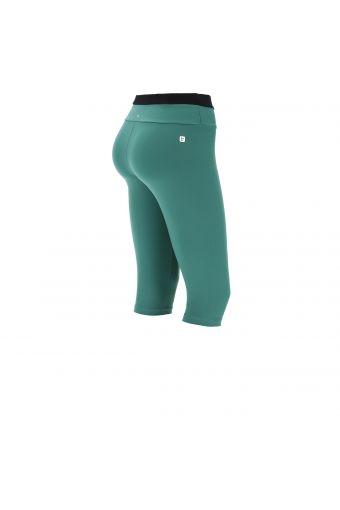 Women's corsair-length SuperFit yoga leggings - 100% Made in Italy