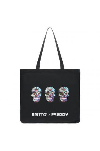 Skull canvas shopper - Romero Britto Collection