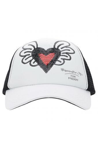 Winged heart baseball cap - Romero Britto Collection