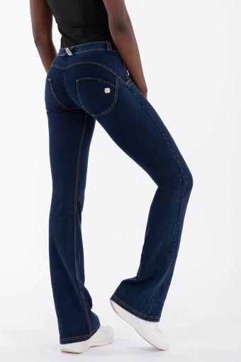 WR.UP® flare regular-rise stretch denim trousers