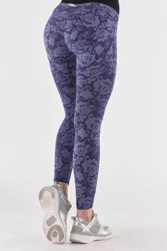 WR.UP® SHAPING EFFECT - Taille Basse - 7/8 - WR.UP® Sport Leggings - Imprimé floral ton sur ton