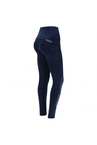 Jeans WR.UP® cintura alta con calavera – Romero Britto Collection