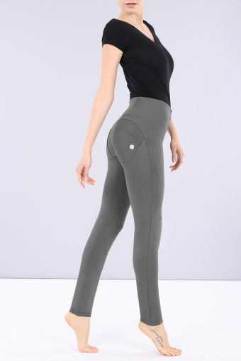 WR.UP® high-rise skinny-fit trousers in stretch cotton