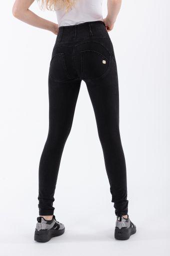 Pantalone WR.UP® skinny vita alta lunghezza regular in denim elasticizzato