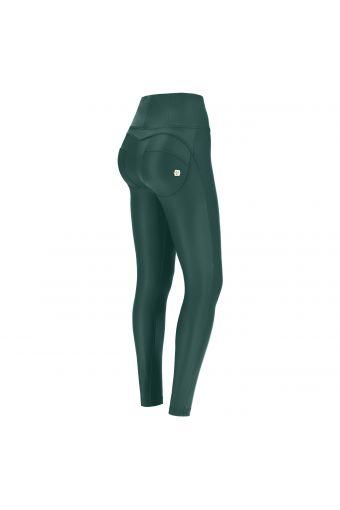 Pantalón push up WR.UP® imitación cuero cintura alta pitillo – Special Edition