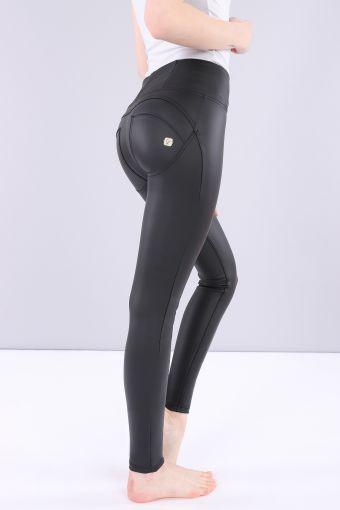 Pantalon WR.UP® taille haute en simili-cuir