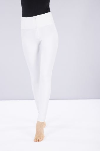 Faux leather high-rise WR.UP® trousers