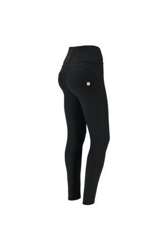 Pantalón push up WR.UP® pitillo en cupro con cintura alta