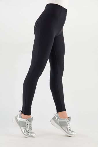 High-waisted WR.UP® shaping skinny trousers