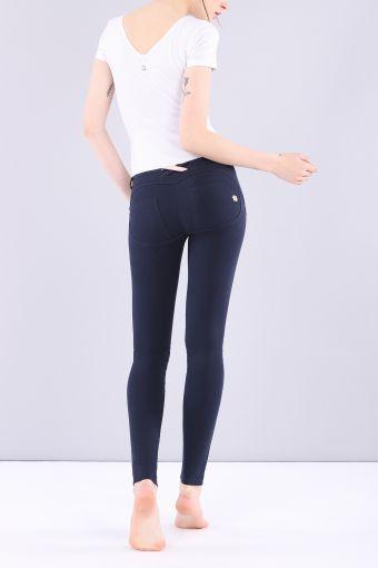 Pantalon WR.UP® skinny taille basse longueur classique en coton élastique