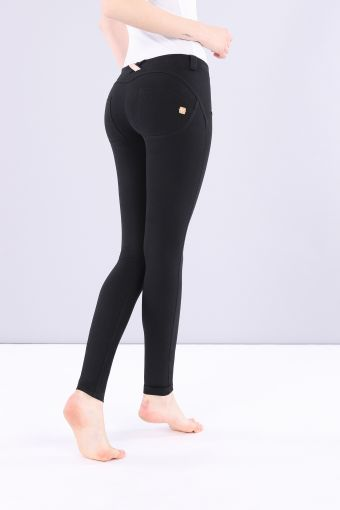 WR.UP® low-rise skinny-fit trousers in stretch cotton