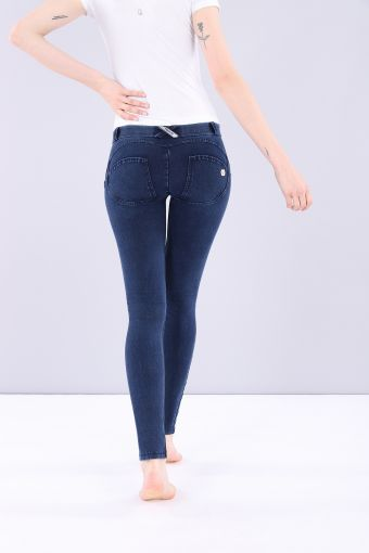 WR.UP® low-rise skinny-fit trousers in stretch denim