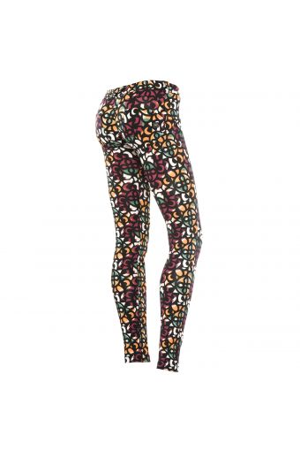 WR.UP® SHAPING EFFECT - Low waist - SKINNY - All-over print