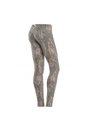 WR.UP® SHAPING EFFECT - Taille Basse - SKINNY - Imprimé all-over