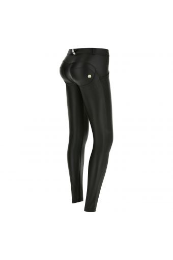 WR.UP® SHAPING EFFECT - Taille Basse - SKINNY - Faux-cuir