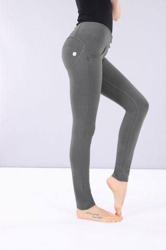 WR.UP® mid-rise stretch cotton trousers
