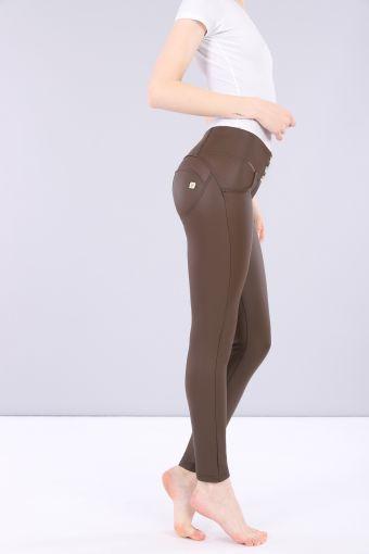 Pantalon WR.UP® skinny taille moyenne simili-cuir