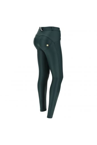 Skinny WR.UP® shaping trousers in faux leather