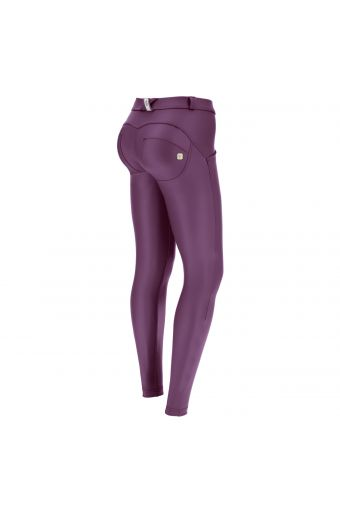 WR.UP® regular-rise skinny-fit trousers in faux leather