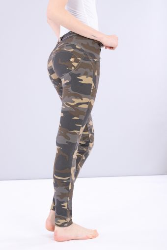 Camouflage WR.UP® regular-rise skinny-fit trousers