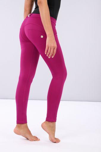 Matt performance fabric WR.UP® lifting skinny trousers