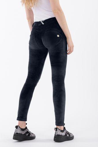 Pantalon push up WR.UP ® skinny, en chenille
