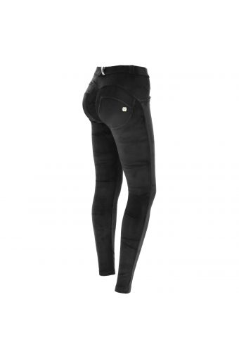 Chenille WR.UP® sculpting skinny trousers