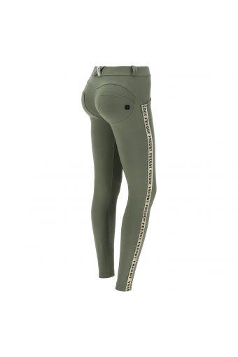 Lightweight fleece WR.UP® sculpting trousers with glitter bands