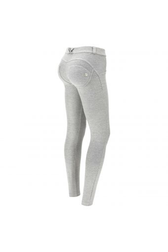 Light grey drill WR.UP® shaping trousers