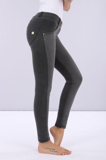 Pantalón WR.UP® de tejido plano denim y algodón de efecto denim
